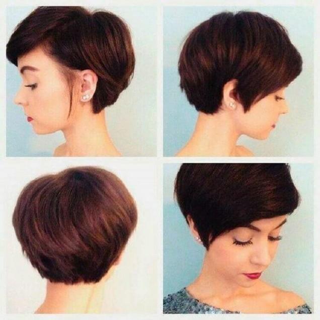 Прически за къса коса на мода