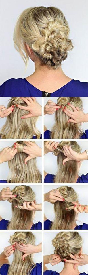 вързана коса