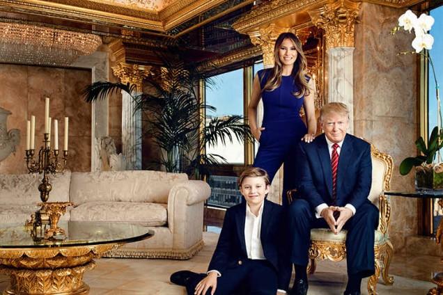 домът на семейство Тръмп
