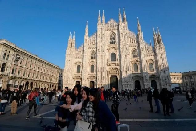 Катедралата в Милано преди коронавируса