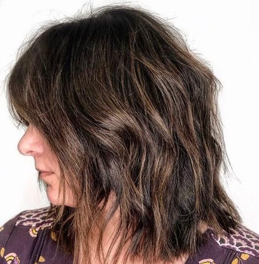 Къси прически за тънка коса 2020