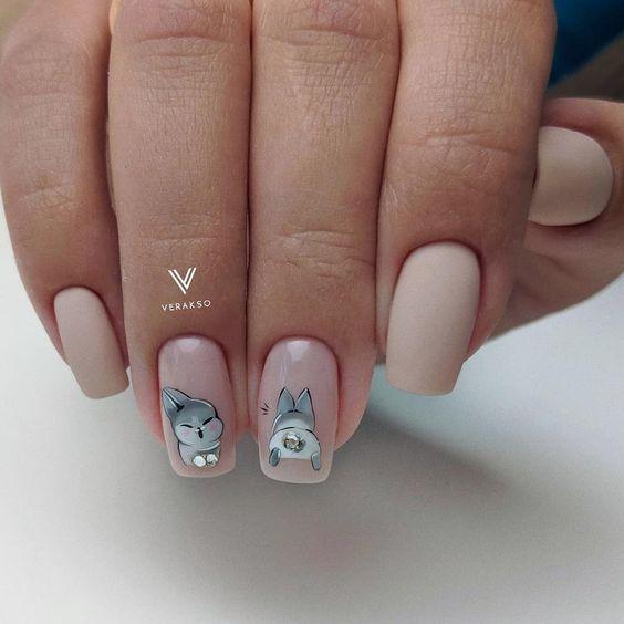 нуди нокти