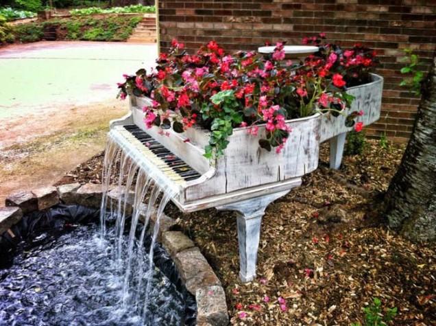 водопад пиано