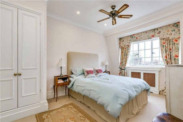 апартаментът на Кейт Мидълтън спалня