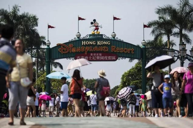 Дисниленд Хонг-Конг преди коронавируса
