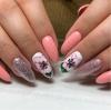 Цветя и пеперуди - 27 приказни пролетни маникюра за вълшебно настроение (Снимки):