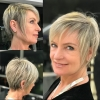 Актуални прически с бретон за дами 45+ - безупречна визия за отлично самочувствие (Снимки):