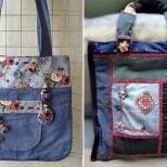 дънкови чанти