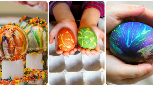 идеи за боядисване на яйца