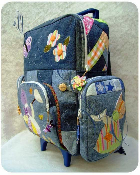 дънков куфар