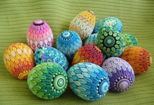великденска украса от яйца