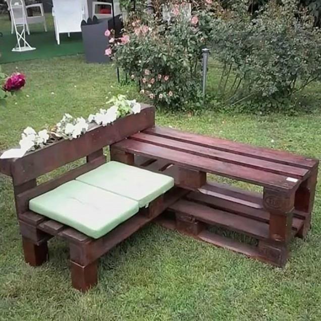 градинска пейка направи си сам
