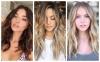 Прически за дълга коса с бретон