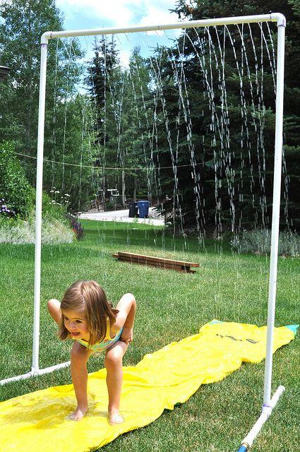 душ на открито