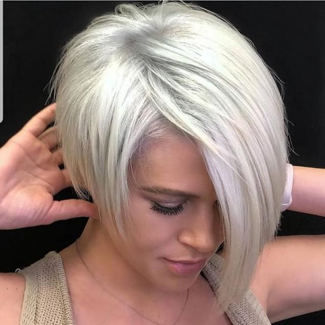 Прическа за тънка коса без обем