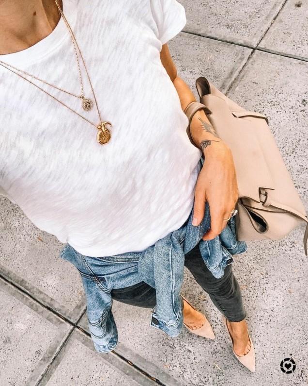 идея за носене на дънки
