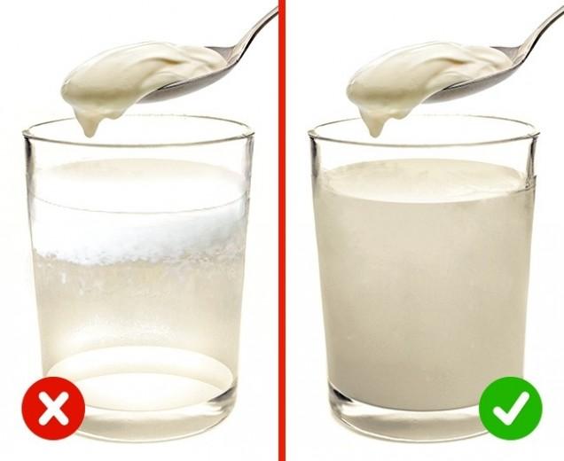 проверка на кисело мляко