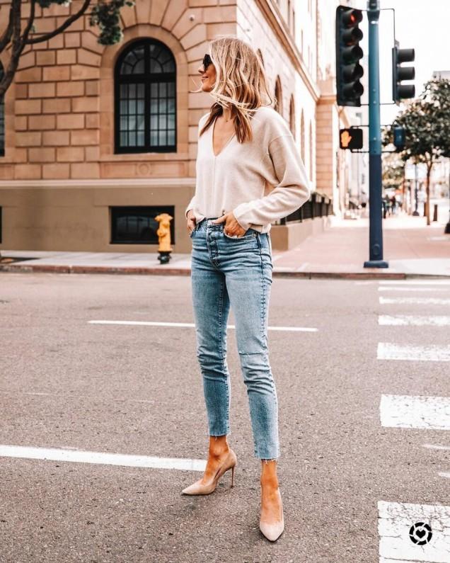 модни тенденции с дънки