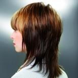 прическа тип шапка тънка коса
