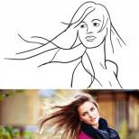 развей косата си