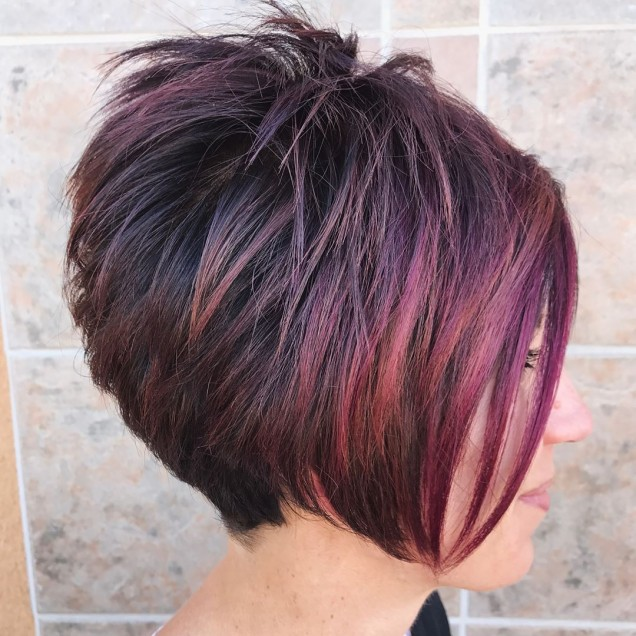 червена коса каре