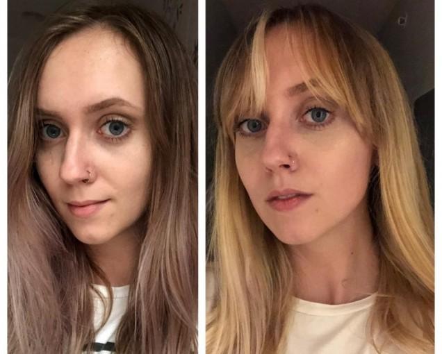 промяна на визията с бретон