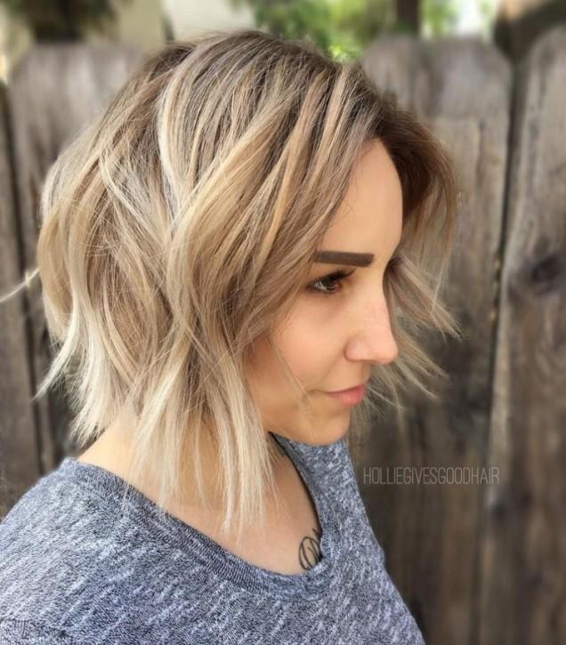 Най добрата прическа за тънка коса