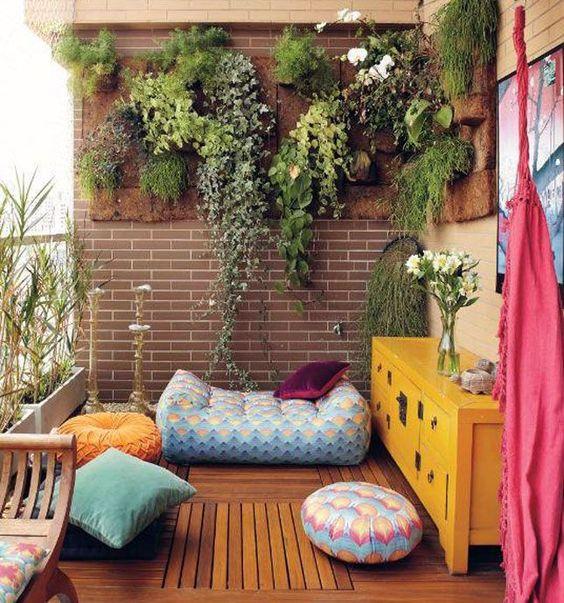 балкон в ориенталски стил