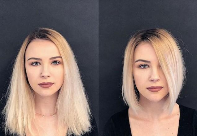 Прически 2020 с бретон