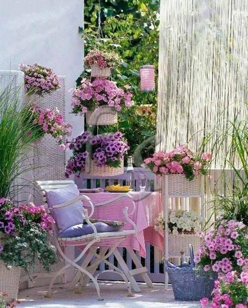 шаби шик с цветя