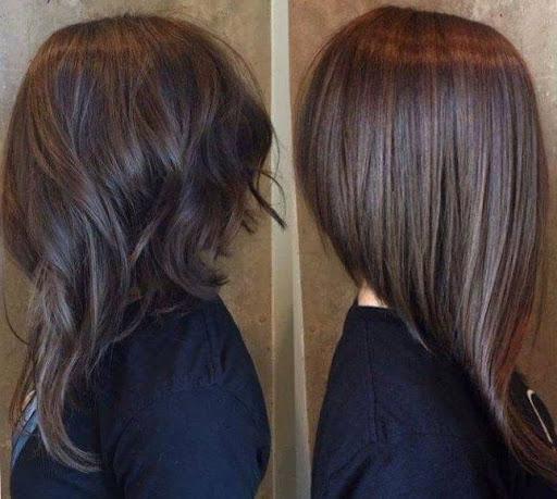 удължен боб дълга коса