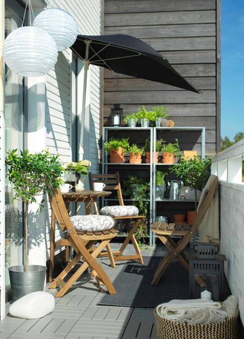 уютен балкон