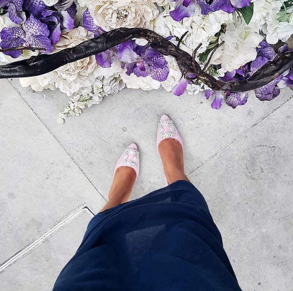 остри нуди обувки