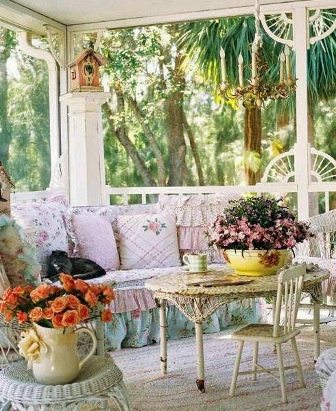 красива тераса за отдих