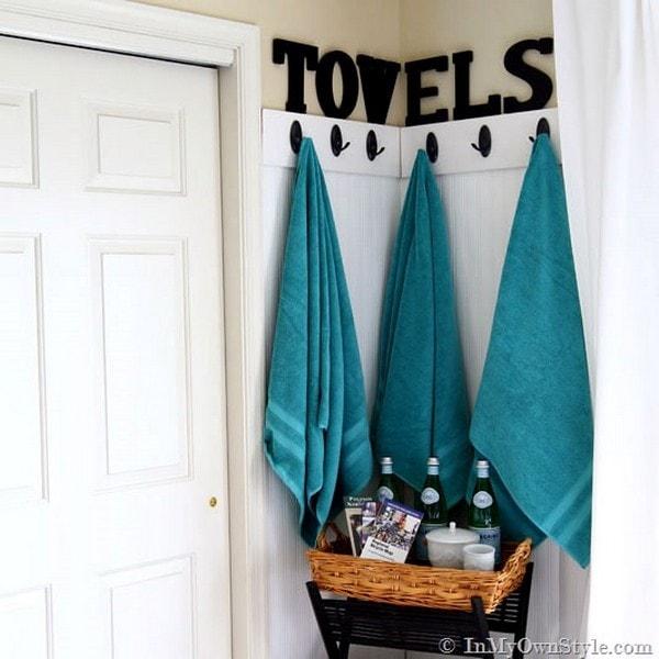 идеи за ъгъла в банята