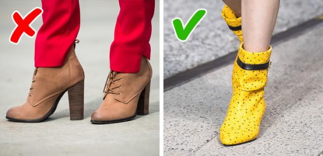 модели обувки