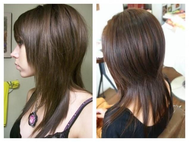 прическа шапка на дълга коса