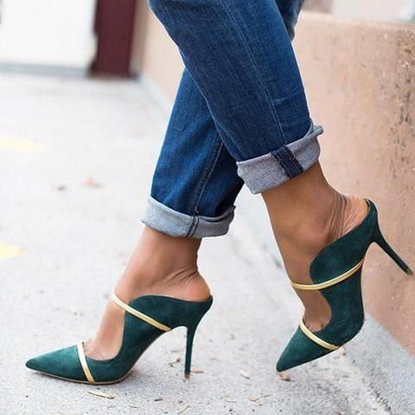 обувки без пета