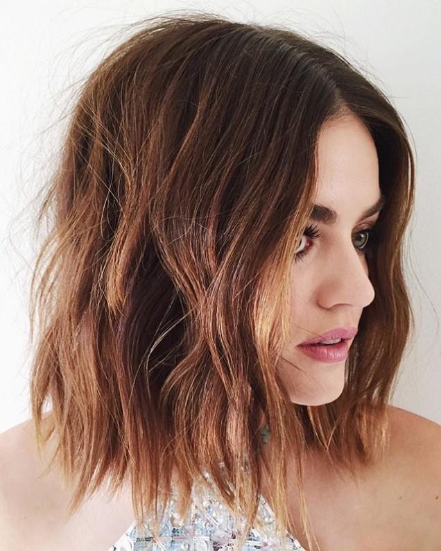 филирано каре чуплива коса