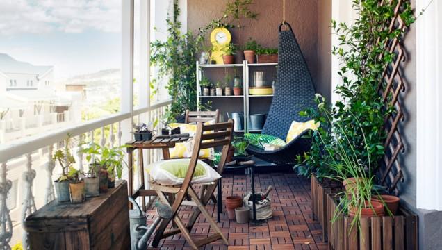 идеи за оформяне на балкона