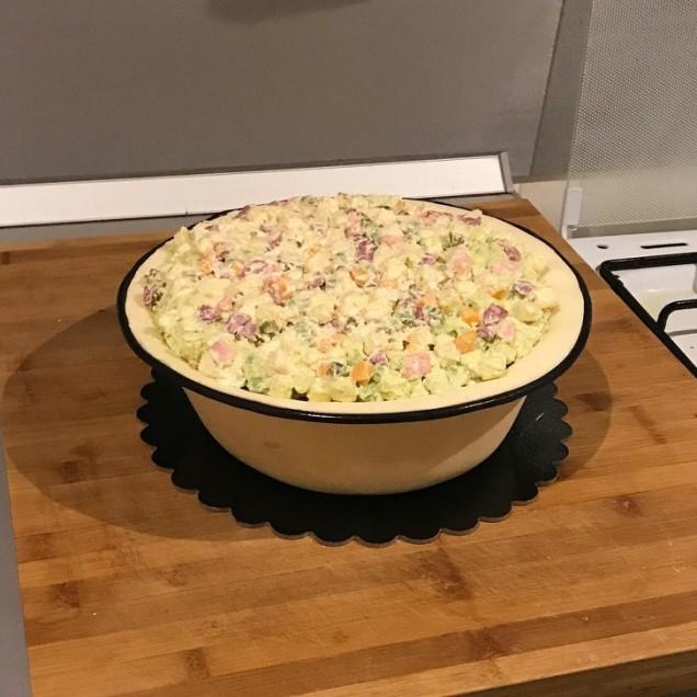 торта руска салата