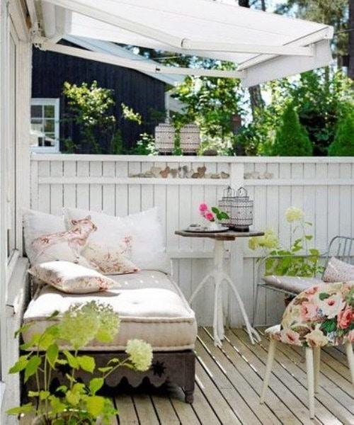 романтично кътче на терасата