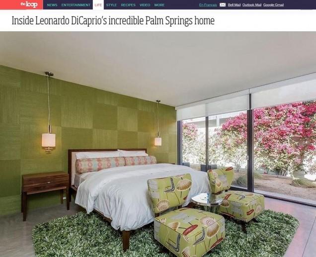 спалнята на Лео ДиКаприо