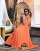 рокля оранж
