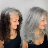 Сивото е новото русо! 29 прически в цвят сребро - благородни, женствени и елегантни (Снимки):