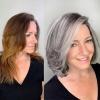 благородно сиво в косите