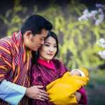 кралицата на Бутан бебе