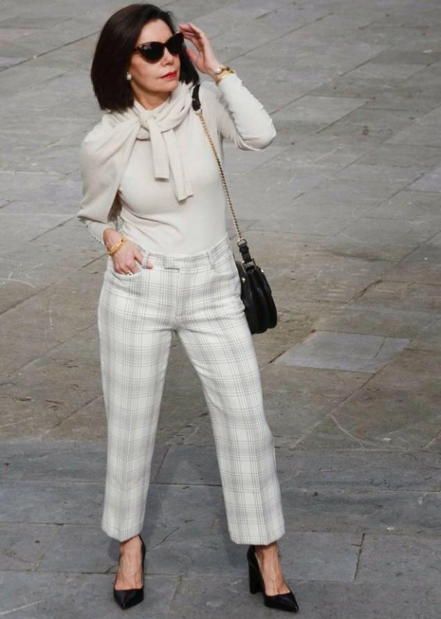 елегантен стил с панталон