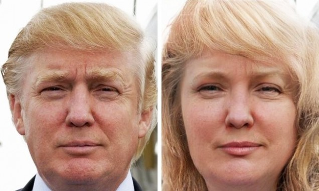 Доналд Тръмп като жена