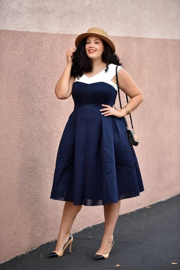 стилна рокля
